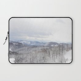 Winter in Transylvania Laptop Sleeve