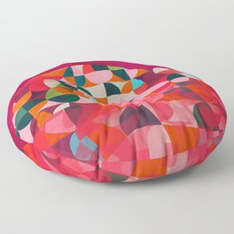 shapes abstract Floor Pillow