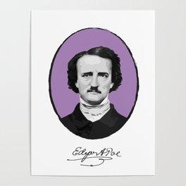 Authors - Edgar Allan Poe Poster