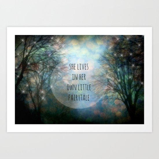 Her Own Fairytale Art Print