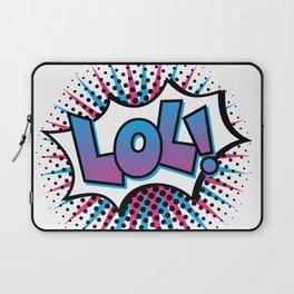 Pop Art LOL! Laptop Sleeve