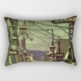 Wired City Rectangular Pillow
