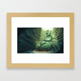 Monk's Cenote Framed Art Print