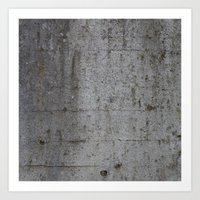 concrete Art Prints featuring Concrete by Jeanette Nilssen