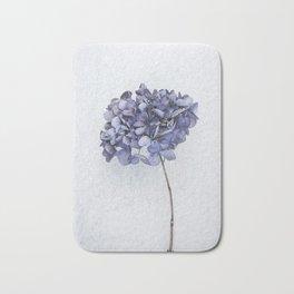 Dried Blue Hydrangea Bath Mat