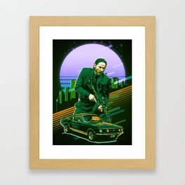 baba yaga the hitman Framed Art Print