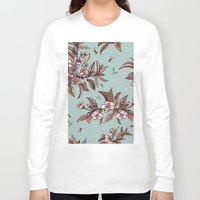 vintage floral Long Sleeve T-shirts featuring Vintage Floral by Guildown