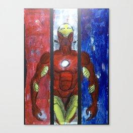 The Invincible triptych Canvas Print