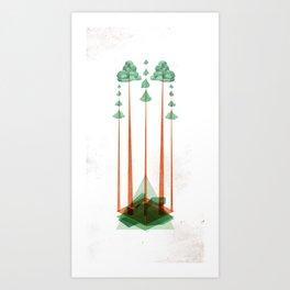 3Lives - Plant Art Print