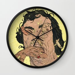 The Bulimic Sphincter #3 Wall Clock