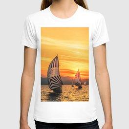 Sun wind T-shirt
