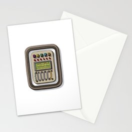 MACHINE LETTERS - O Stationery Cards