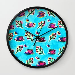 Cuppa For Your Soul Wall Clock