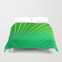 Palm Tree Leaf Duvet Cover