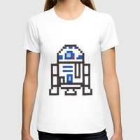 r2d2 T-shirts featuring r2d2 by Walter Melon