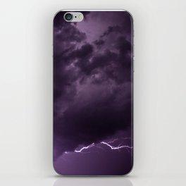 Lightning Bolts iPhone Skin