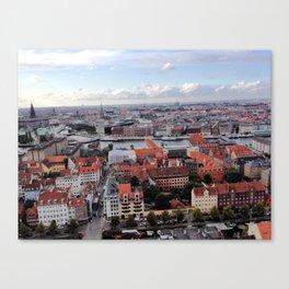 Copenhagen, Denmark - Vor Frelsers Kirke Canvas Print