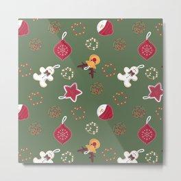 Christmas Crafts Metal Print