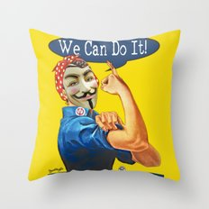 Rosie gets a Makeover. Throw Pillow