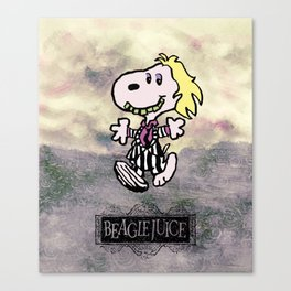 Beaglejuice Canvas Print