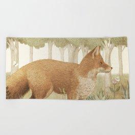 Marco the Fox Beach Towel