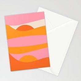 Sunny 70s Drawing - tienda de arte de la pared, carteles, impresiones, decoración del hogar, diseño Stationery Cards