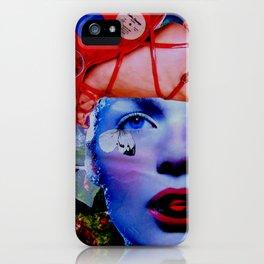 Vinyl girl iPhone Case