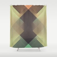 the xx Shower Curtains featuring RAD XX by Metron