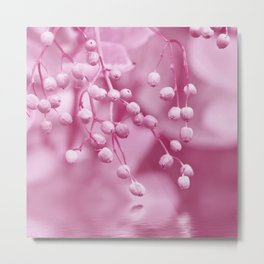 Pink berry 214 Metal Print