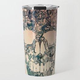 Skull Vintage Travel Mug