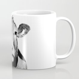 Cow photo - black and white Coffee Mug