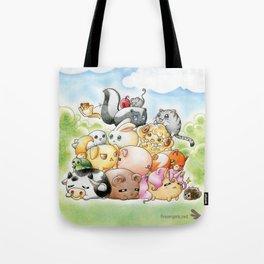 Chibi-Creatures Tote Bag