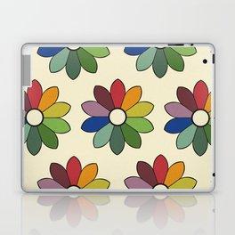 Flower pattern based on James Ward's Chromatic Circle Laptop & iPad Skin