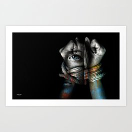 Stand By Me (Sexual Injustice Awareness) Art Print