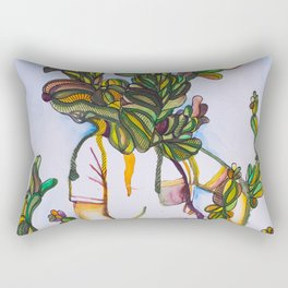 Plant Man Rectangular Pillow