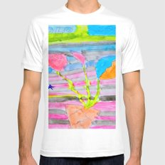 Yolo Love | Flower by Elisavet | #society6 Mens Fitted Tee White MEDIUM