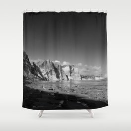 Seeing time Shower Curtain