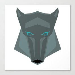 Poly-Wolf Canvas Print