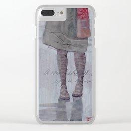 Tu non sai... Clear iPhone Case