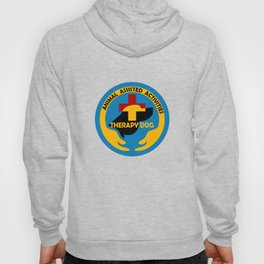Animal Assisted Activities  - THERAPY DOG logo Hoody