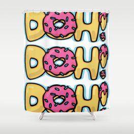 DOH! Shower Curtain