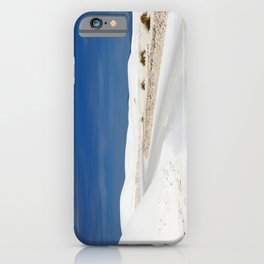 White Sand Reaches Up To The Horizon iPhone Case