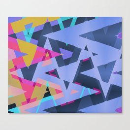 Triangle Round Up Canvas Print