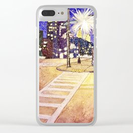 Streetlights by Starlight Clear iPhone Case