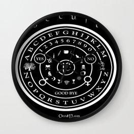 "Everette Hartsoe's Occult 13 ""SPIRITBOARD"" Wall Clock"