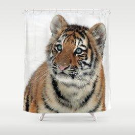 Tiger_2015_0108 Shower Curtain