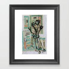 MuNi Transfer Atom Framed Art Print