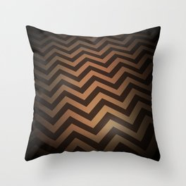 The Black Lodge (perspective varient) Throw Pillow