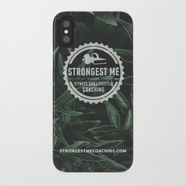 Strongest Me Green iPhone Case