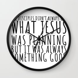 Stupid But Blessed Wall Clock